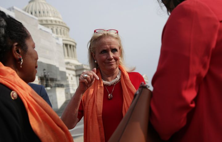 """Rep. Debbie Dingell (D-Mich.) is the lead sponsor of the THRIVE Act in the House. """"The people that were the glue that held th"""